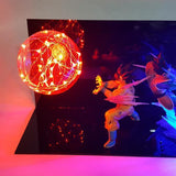 Lampe Dragon Ball Z </br> Rivaux Eternels