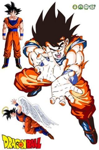 Sticker Mural Dragon Ball</br> Sangoku