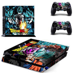 Stickers PS4 Dragon Ball S <br/> Saiyan Blue (SLIM)