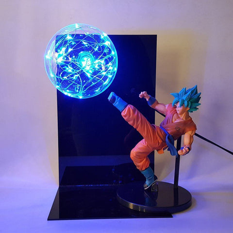 Lampe Dragon Ball Super</br> Goku Super Saiyan Blue