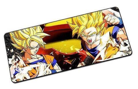 Tapis de Souris Dragon Ball <br/> Goku Saiyan (GRAND)