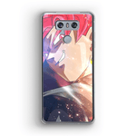 Coque DBS LG<br/> Black Goku Hautain