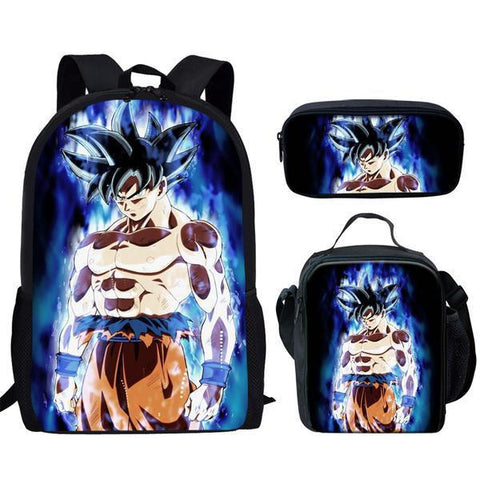 Ensemble Dragon Ball S <br/> Sac + Sacoche + Trousse