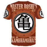 T-Shirt Dragon Ball Z <br/> Roshi Gym