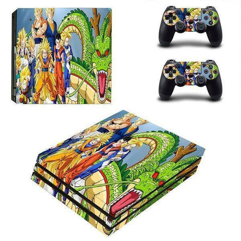 Stickers PS4 Dragon Ball Z <br/> Shenron Saiyan (SLIM)