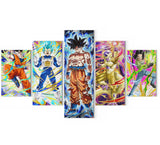 Tableau Dragon Ball Super </br> Team Univers 7