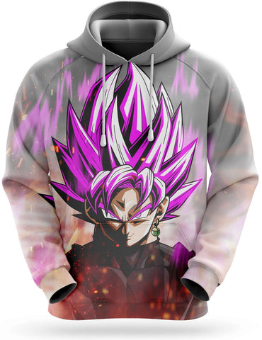 Sweat Dragon Ball Super <br/> Black Goku Rosé