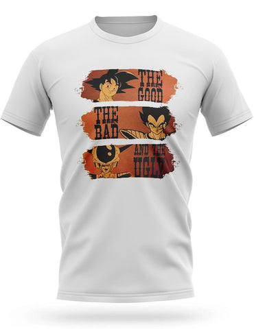 T-Shirt Dragon Ball<br/> Bon, Brute et Truand
