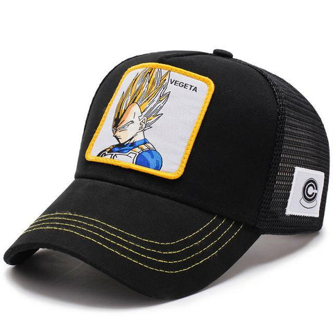 Casquette Dragon Ball Z <br/> Vegeta SSJ1