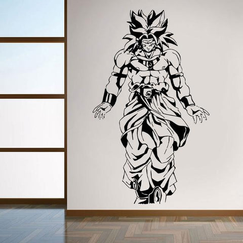 Sticker Mural Dragon Ball</br> Broly
