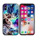 Coque DBS iPhone<br/> Goku Bleu
