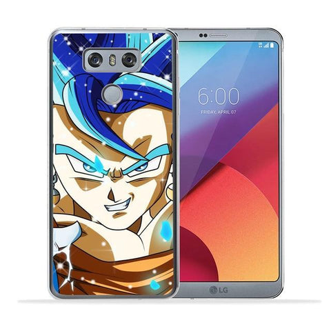 Coque DBS LG<br/> Vegeto Super Saiyan Blue