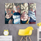 Tableau Dragon Ball Z</br> Saiyan Anime