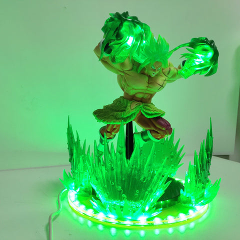 Figurine LED Dragon Ball Z</br> Broly SSJ