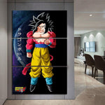 Tableau Dragon Ball GT</br> Goku SSJ4