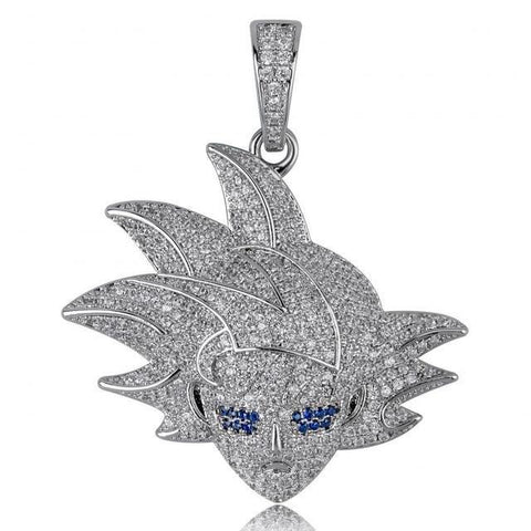 Collier Dragon Ball Z</br> Goku Argent