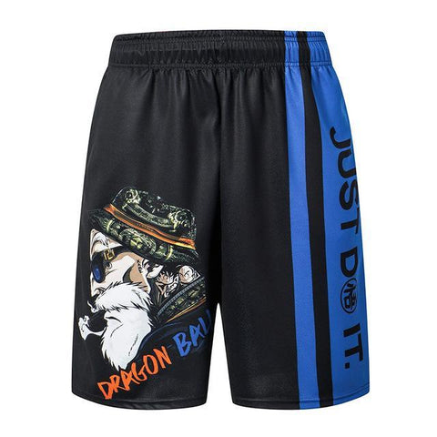 Short Fitness Dragon Ball Z </br> Tortue Géniale