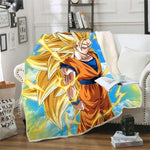 Plaid Dragon Ball Z</br> Goku SSJ3