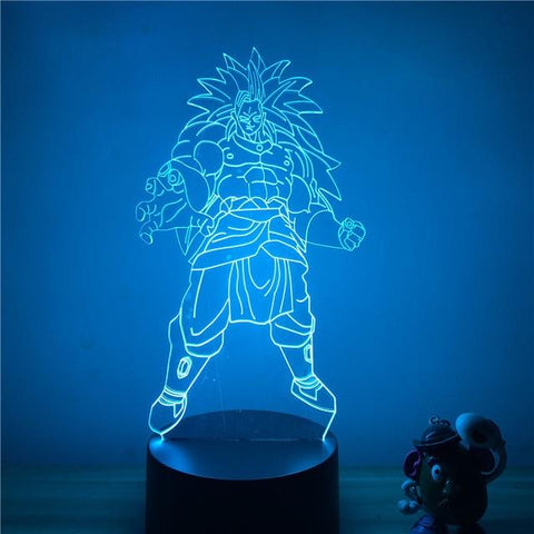 Lampe Led 3D Dragon Ball</br> Broly