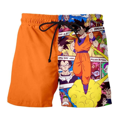 Short de Bain Dragon Ball<br/> Sangoku