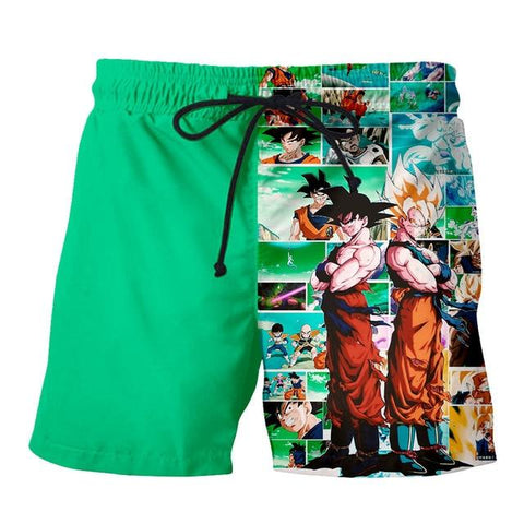 Short de Bain Dragon Ball<br/> Goku Saga Saiyan