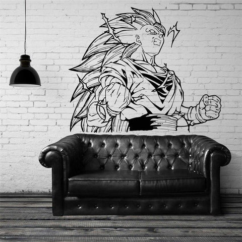 Sticker Mural Dragon Ball</br> Goku Super Saiyan 3
