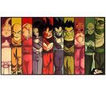 Poster Dragon Ball Z</br> Z-Team