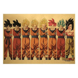 Poster Dragon Ball Z</br> Sangoku