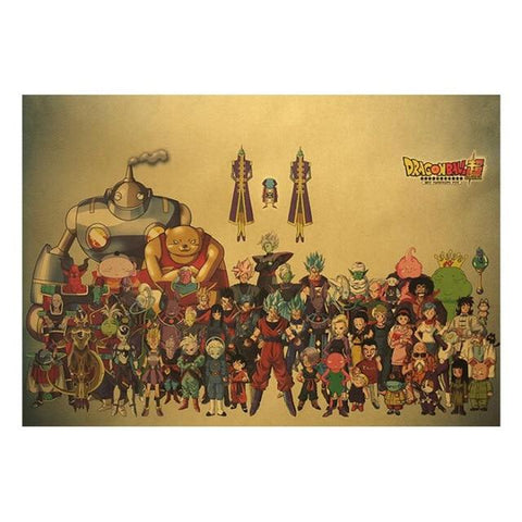 Poster Dragon Ball</br> Saga Super