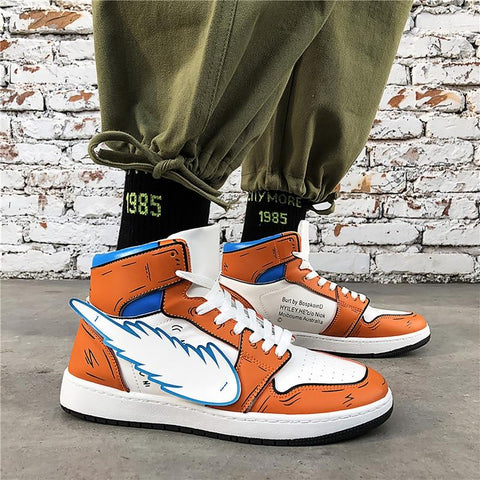 Chaussure Dragon Ball Z</br> Inspiration Nike Air