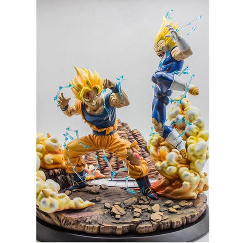 Figurine Collector </br> Vegeta vs Goku