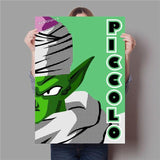 Poster Dragon Ball Z</br> Piccolo (Flat Design)