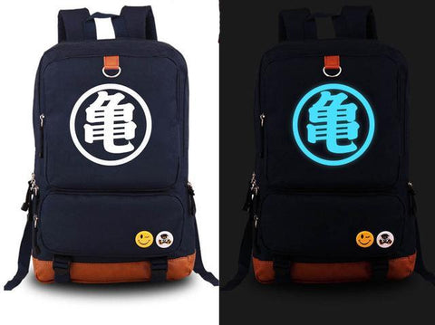 Sac à Dos Dragon Ball Z <br/> Kanji Fluorescent