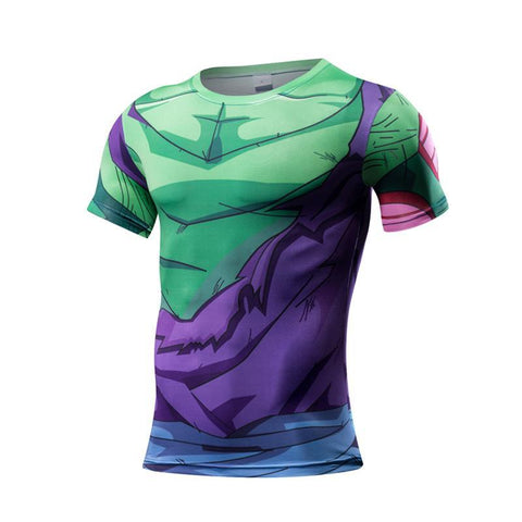 T-Shirt Compression <br/> Affrontement Piccolo