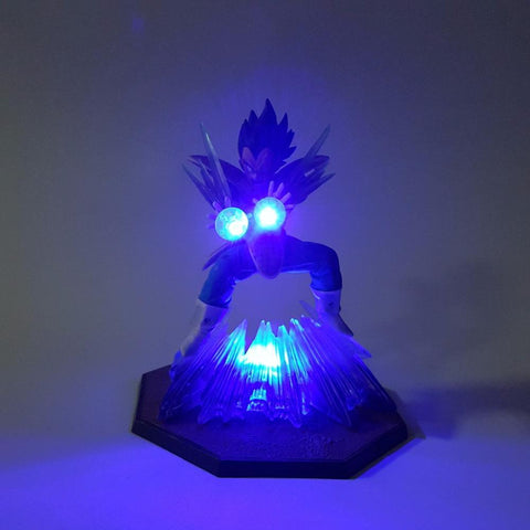 Figurine LED Dragon Ball Z Vegeta Double Kikoha