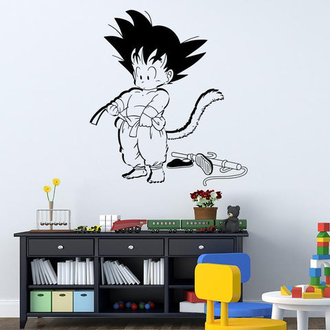 Sticker Mural Dragon Ball </br> Son Goku Petit