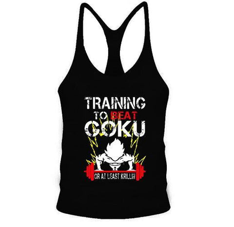Stringer Dragon Ball Z Musculation Goku Training - M | DBZ Store