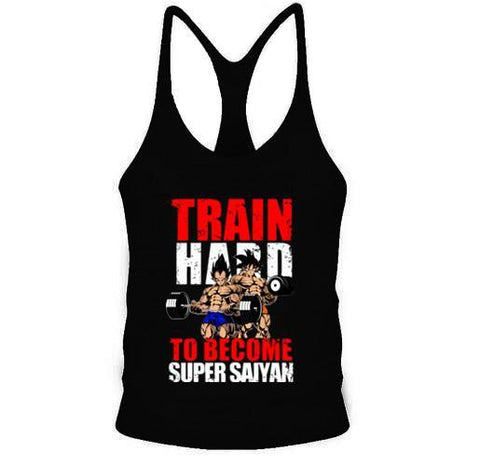 Stringer Dragon Ball Z Musculation Super Saiyan - M | DBZ Store