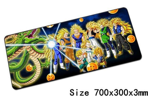 Grand Tapis De Souris SSJ3 - Default Title | DBZ Store