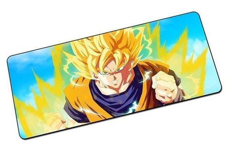 Tapis de Souris Dragon Ball <br/> Super Saiyan 2 (GRAND)