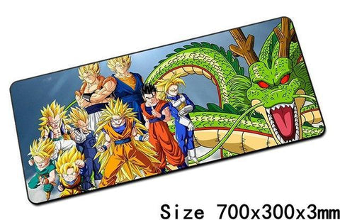 Grand Tapis De Souris Saiyan Family - Default Title | DBZ Store