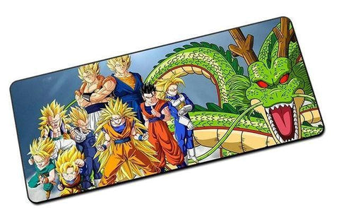 Tapis de Souris Dragon Ball <br/> Team Saiyans (GRAND)