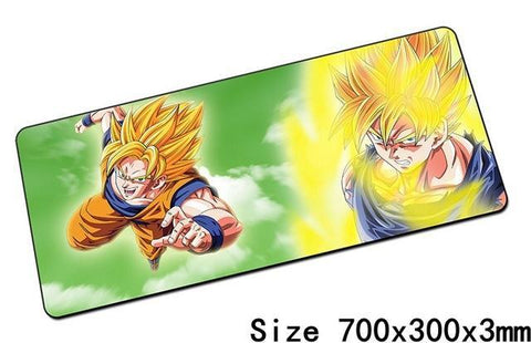 Grand Tapis De Souris Goku Combat - Default Title | DBZ Store