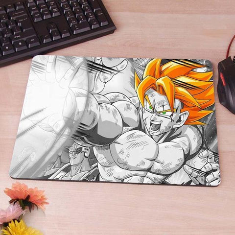 Tapis de Souris Dragon Ball <br/> Goku Saiyan (MOYEN)