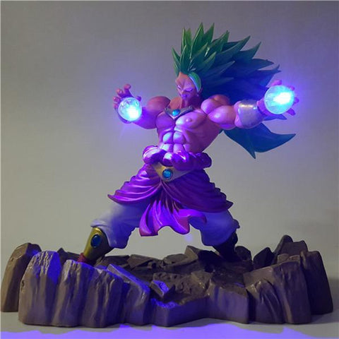 Figurine LED Dragon Ball Z Broly Super Saiyan 3