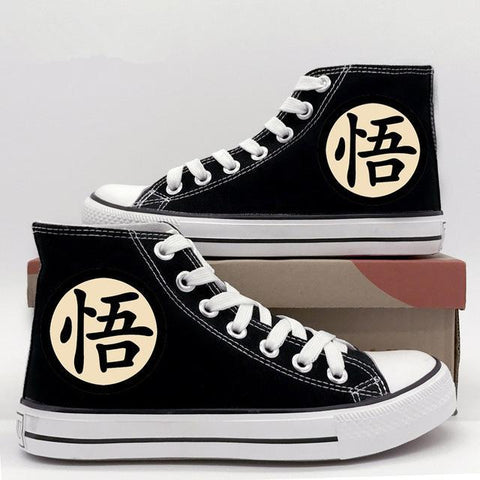 "Chaussures Dragon Ball </br> Kanji ""Go"""