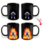 Mug Thermosensible DBZ <br/> Vegeta Super Saiyan 2