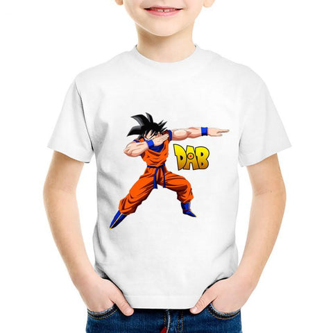 T-Shirt DBZ Enfant<br>Goku DAB - Normal / 3 ans | DBZ Store