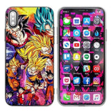 Coque DBZ iPhone<br/> Transformation de Goku
