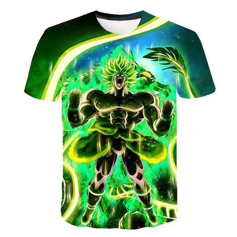 T-Shirt Dragon Ball Super<br> Broly Potentiel Révélé - M | DBZ Store